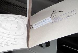 Книга учета трудовых книжек: образец заполнения