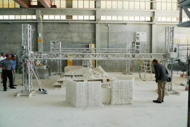 Печать домов на 3D принтере