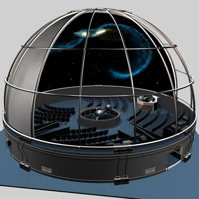 Мобильный планетарий как бизнес