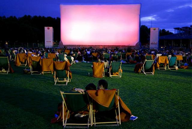 Кинотеатр под открытым небом как бизнес