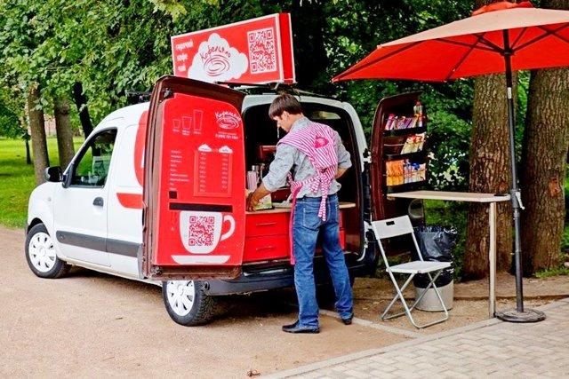 Кофейня на колесах как бизнес: какие нужны разрешения