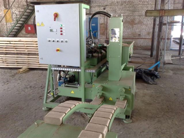 Прессованные опилки для производства топливных брикетов