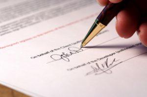 Образец Договора о намерении заключить договор