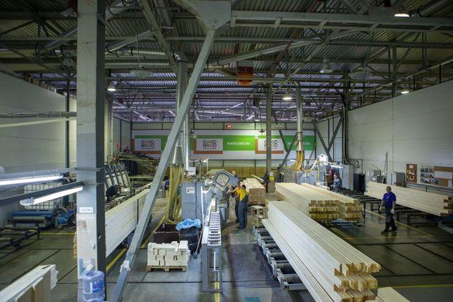 Производство клееного бруса: технологии, оборудование