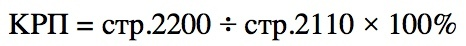 Рентабельности производства, формула, уровень, показатели