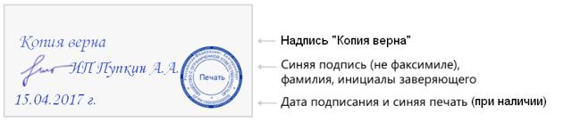 Копия верна: как правильно заверить копию документа