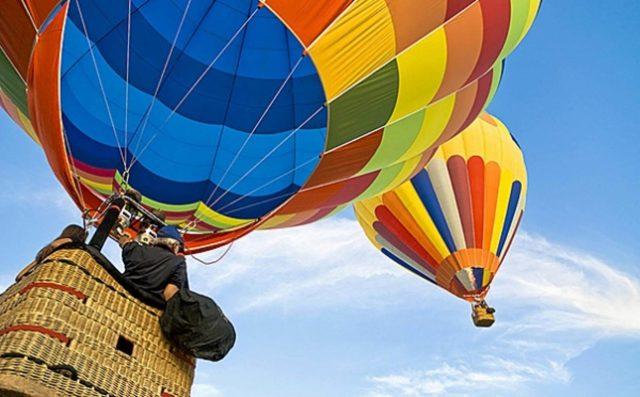 Полет на воздушном шаре: цена полета, высота, управление
