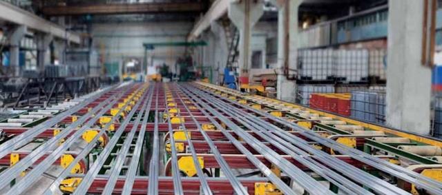 Производство алюминиевого профиля в России
