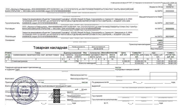 Что такое первичная документация в бухгалтерии