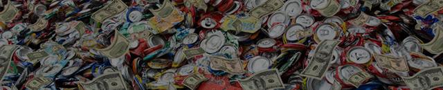 Прием алюминиевых банок: сколько стоит банка