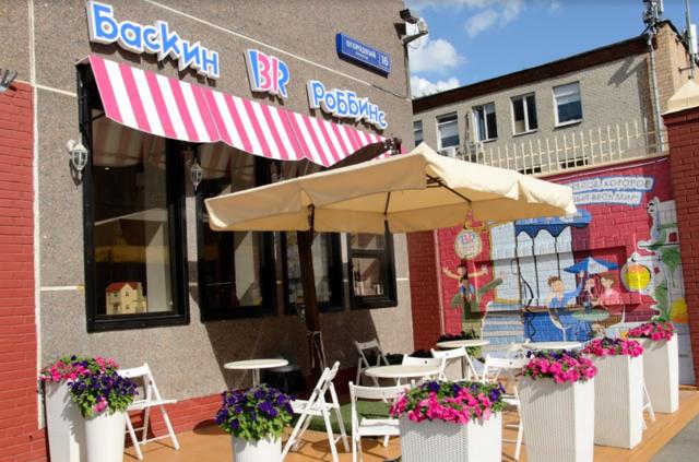 Кафе-мороженое Баскин Робинс: как купить франшизу