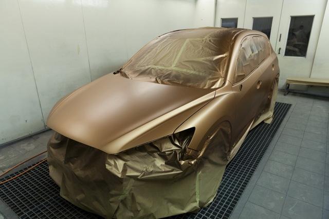Покраска авто жидкой резиной