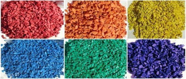 Цветной щебень: технология производства